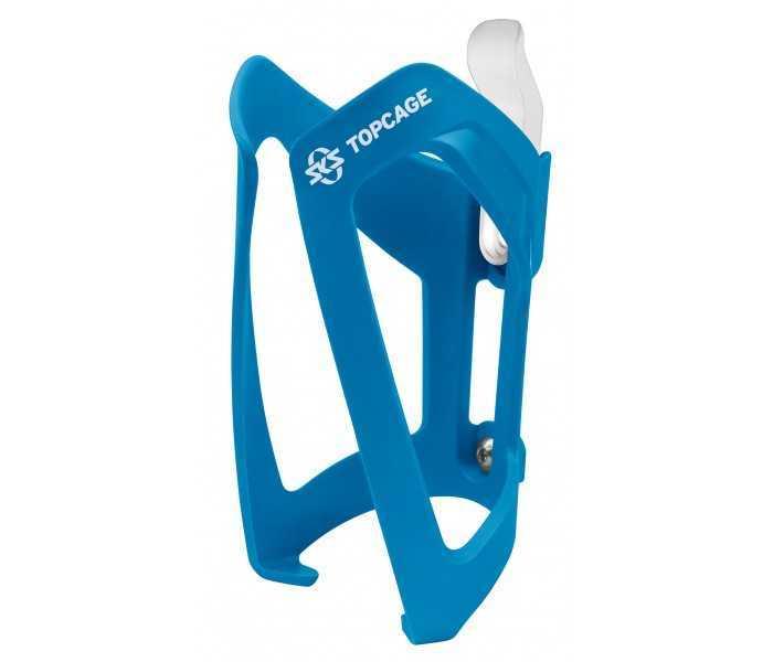 Flaskeholder SKS TopCage blå plastik