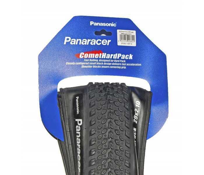 Dæk Panaracer 29 x 2,1 Comet Hard pack black foldedæk 600 gram