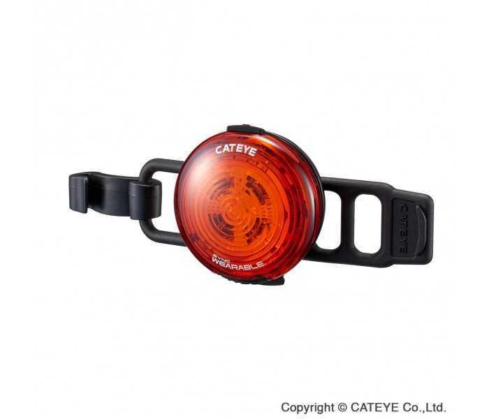 Baglygte Cateye Sync Wearable SL-NW100 USB opl. 50 lumen