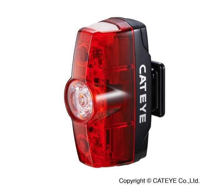 Baglygte Cateye Rapid Mini TL-LD635-R USB opl. 15 lumen