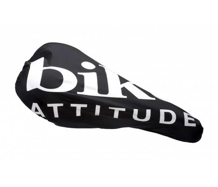 Sadelovertræk Bike Attitude Race - Vandtæt regnovertræk - Sort