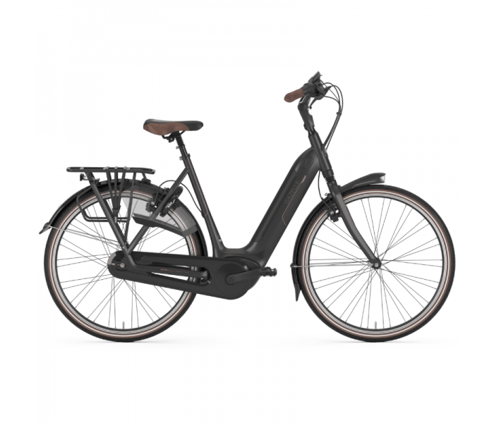 Gazelle Grenoble C8 HMB Dame 2020 - sort